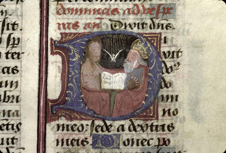Psautier à l'usage de l'abbaye Sainte-Croix d'Angle