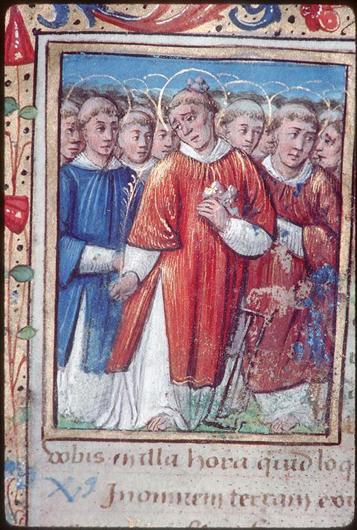 Heures à l'usage de Bourges
