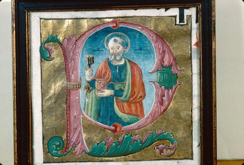 (Fragment d'un manuscrit liturgique)
