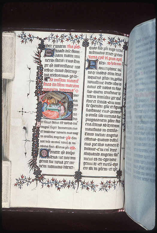 Missel romain - Page décorée_0