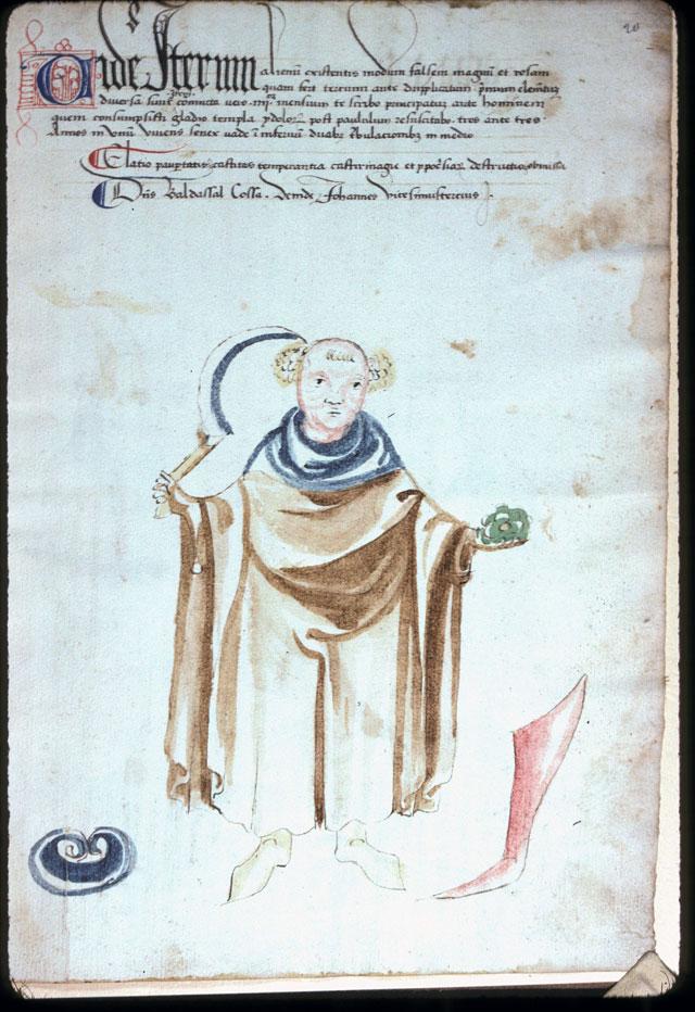 Vaticinia de summis pontificibus - Moine à la faucille (Le)_0