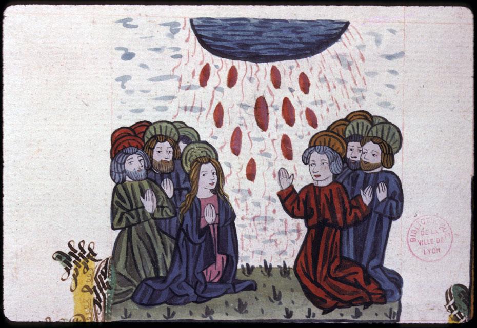 Speculum humanae salvationis - Pentecôte_0