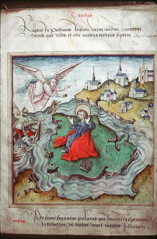 Apocalypsis figurata - Début de la vision apocalyptique de saint Jean_0