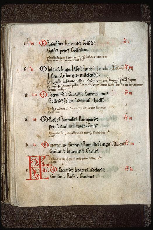 Nécrologe de la Trinité de Vendôme - Initiales filigranées_0