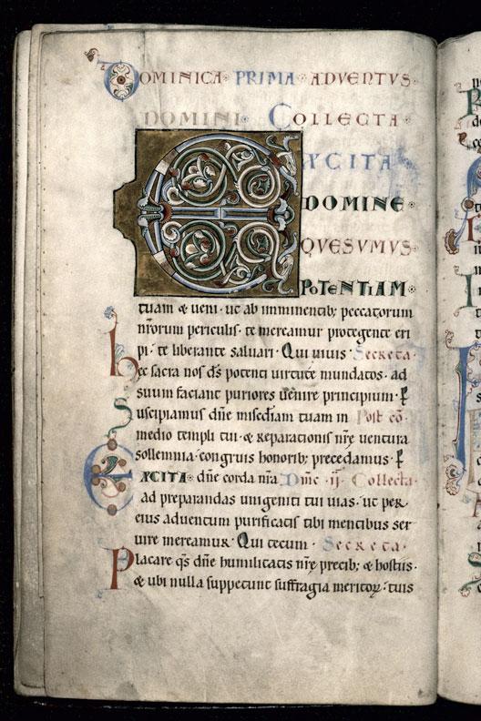 Sacramentaire à l'usage de l'abbaye de Saint-Amand
