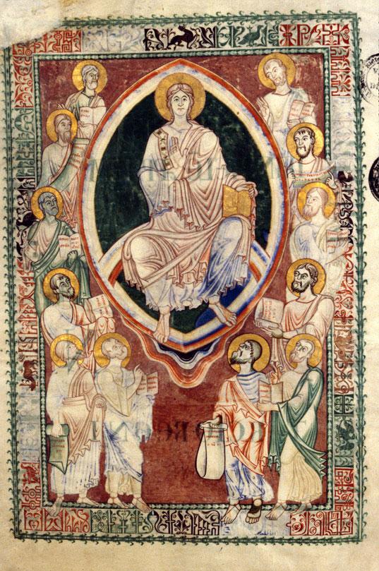 Opuscula - Dieu en majesté entouré des petits prophètes_0