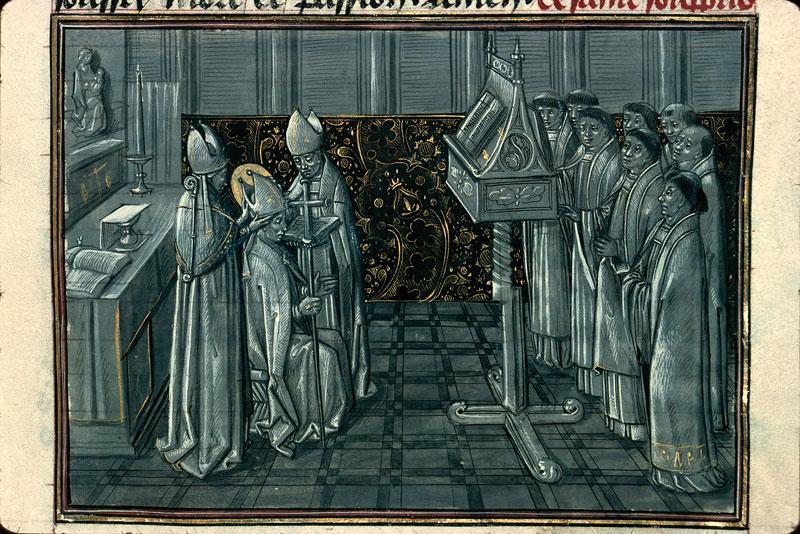 Légende dorée - Saint Sulpice sacré évêque_0