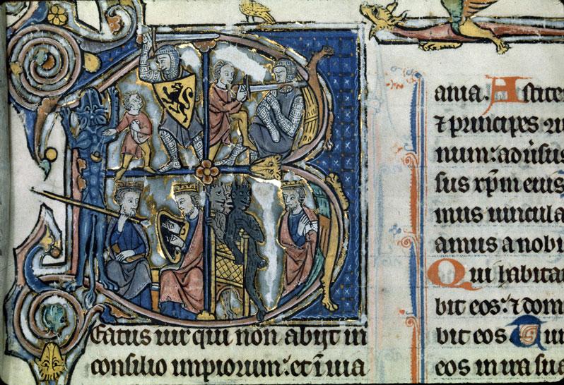 Psautier à l'usage de Soissons