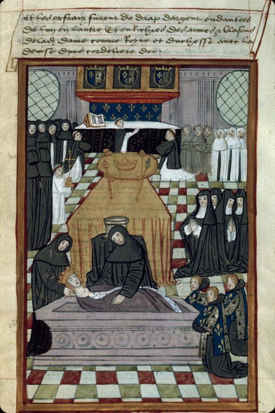 Commémoration et advertissement de la mort d'Anne de Bretagne