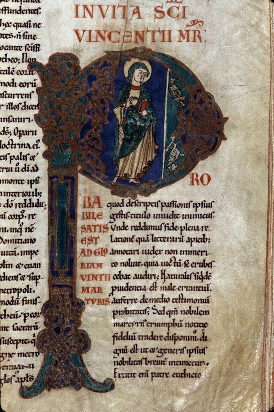 Lectionnaire de l'office de l'abbaye S. Pierre de la Couture du Mans