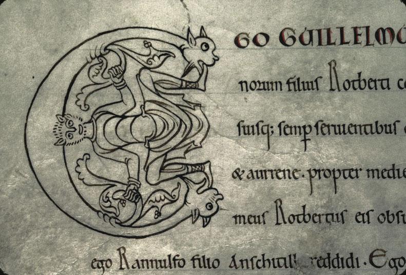 Cartulaire de l'abbaye du Mont-Saint-Michel