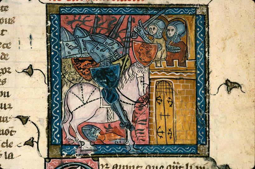 Artus de Bretagne - Siège du château de la Porte Noire_0