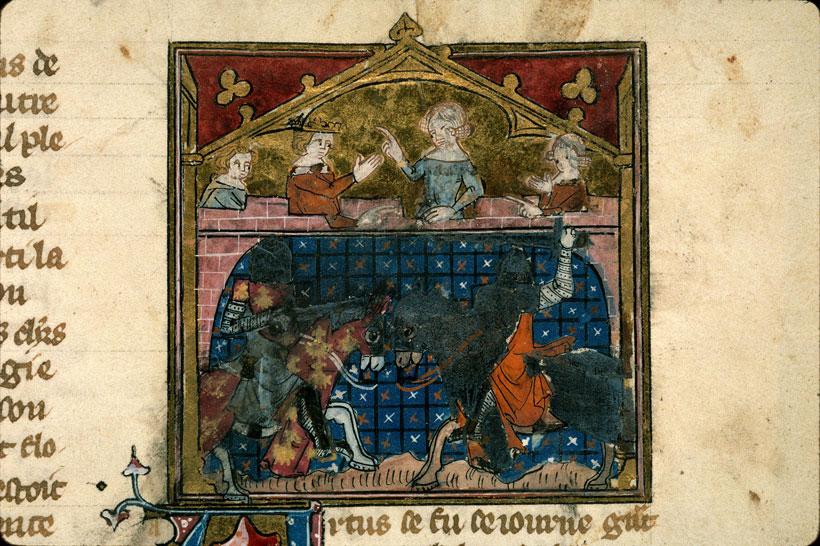 Artus de Bretagne - Combat d'Artus de Bretagne et d'Ysembart_0
