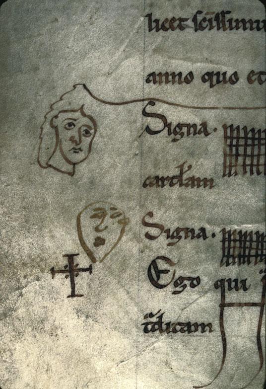 Cartulaire de l'abbaye du Mont-Saint-Michel - Têtes_0