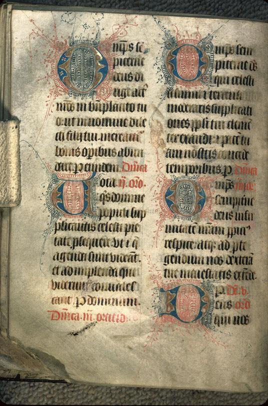 Obituaire et pitancier de l'abbaye du Mont-Saint-Michel