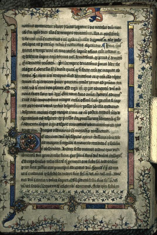 Ordinaire à l'usage de l'abbaye du Mont-Saint-Michel