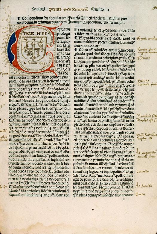 Quaestiones in IV libros Sententiarum