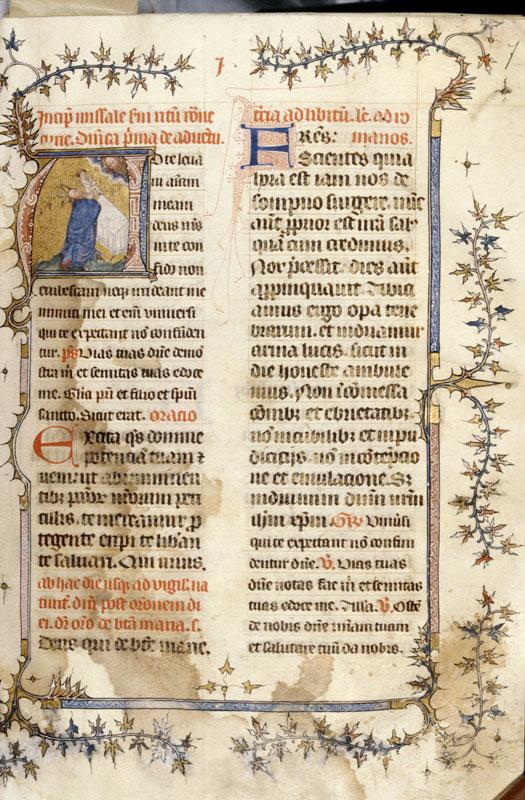 Missel romain à l'usage de Naples - Page décorée_0