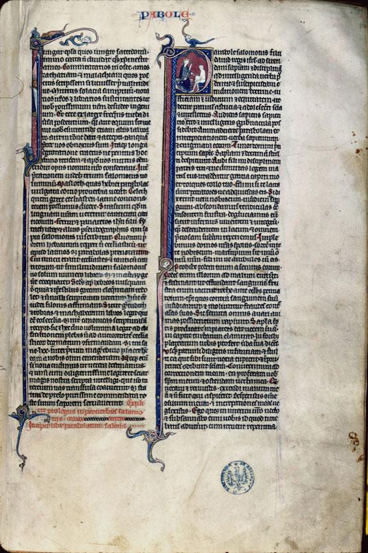 Bible (partie de)
