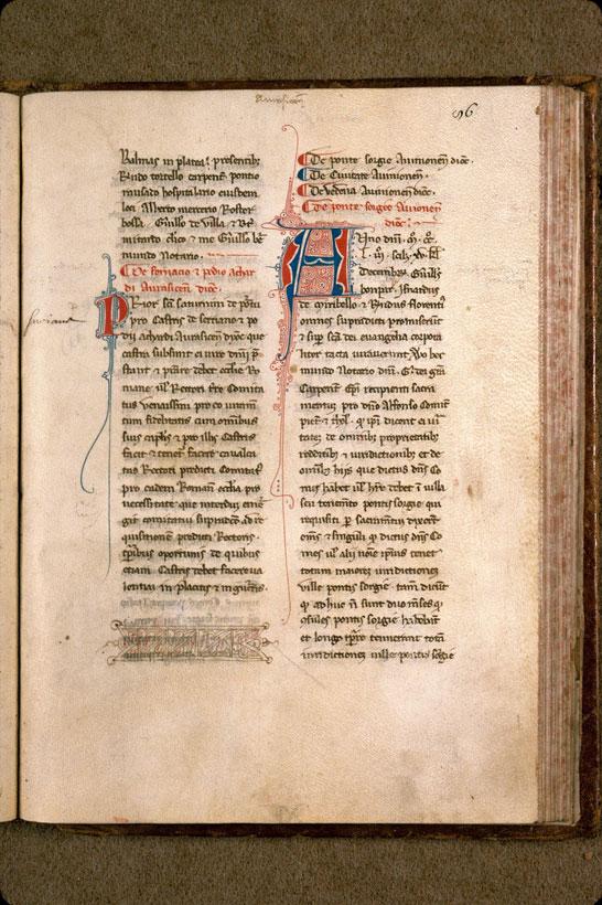 Livre rouge d'Alphonse, duc de Poitiers et de Toulouse