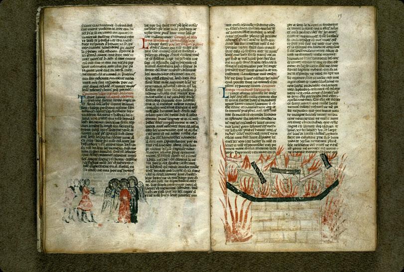 Histoire ancienne jusqu'à César - Trois anges arrivant à Sodome (Les)_0