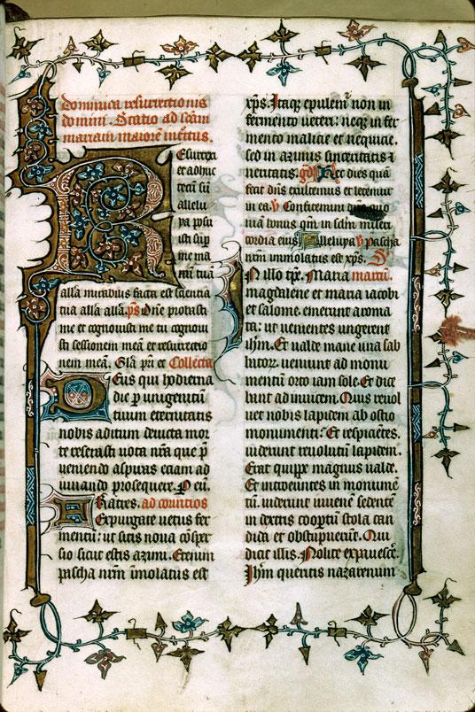 Missel à l'usage des ermites de saint Augustin