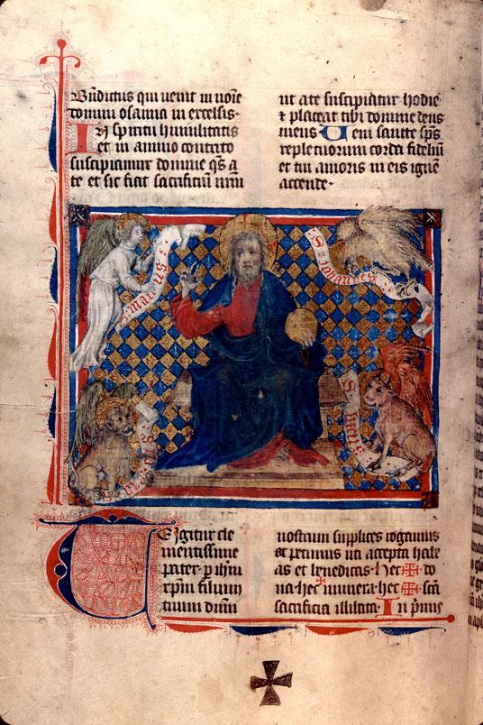 Missel à l'usage de Sainte-Marie-Madeleine de Besançon