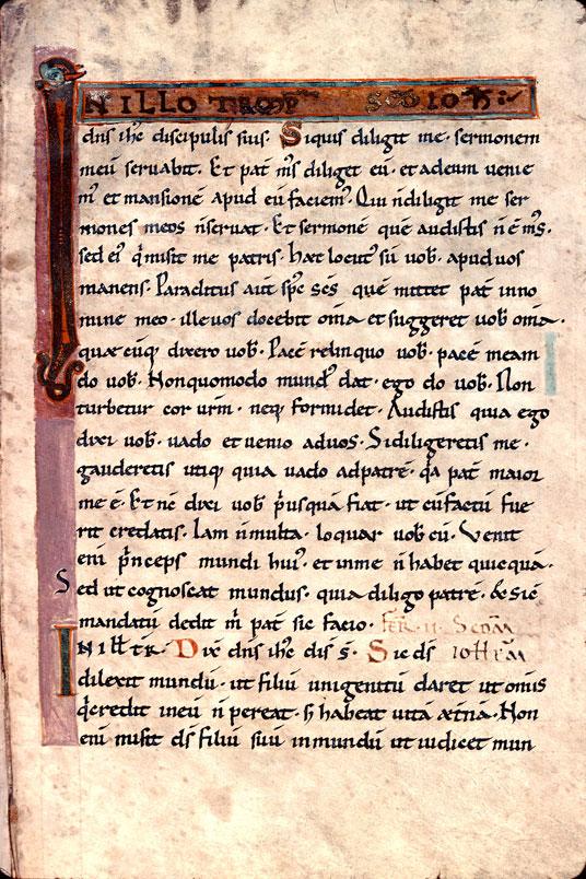 Evangéliaire à l'usage de Saint-Etienne de Besançon