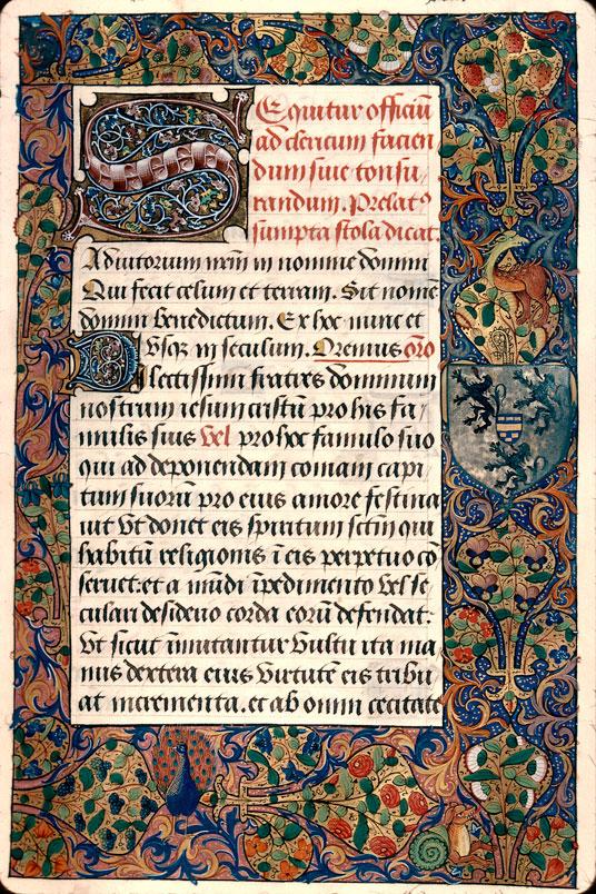 Pontifical à l'usage d'Amiens