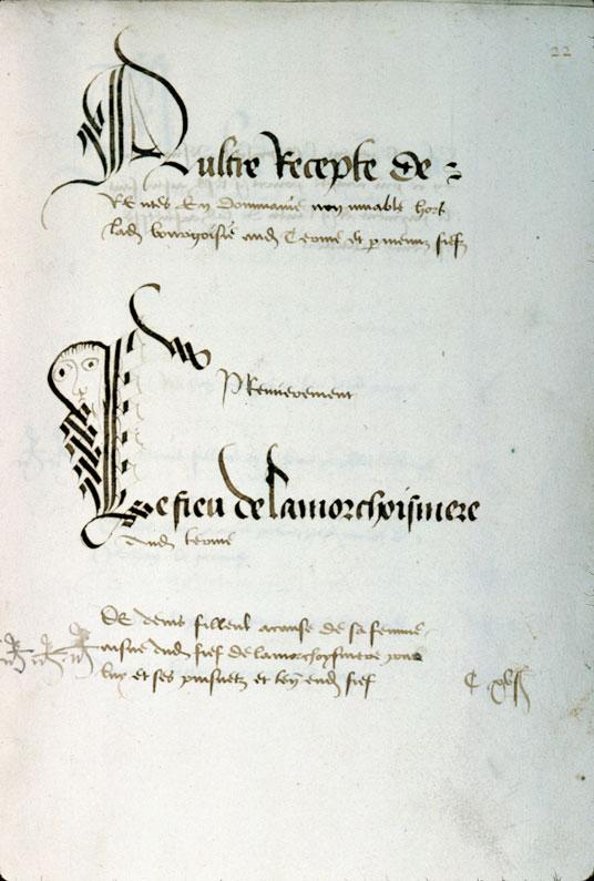 Comptes des revenus de la terre et baronnie de Laigle