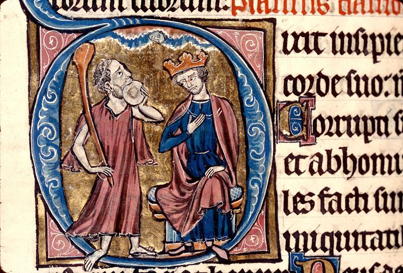 Psautier à l'usage de Limoges - Insensé défiant Dieu et David (L')_0