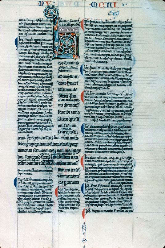 Bible glosée (partie de)