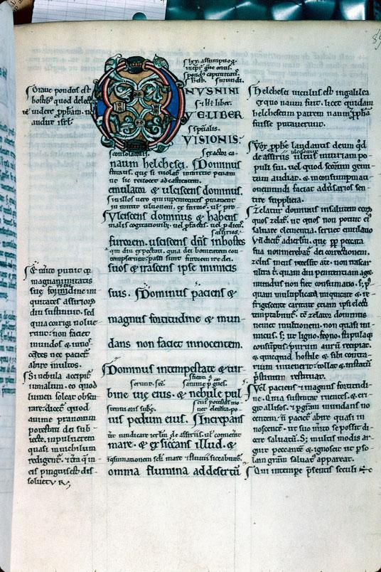 Bible glosée (partie de) - Initiale ornée_0