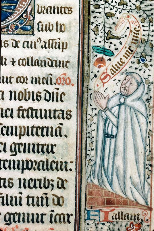 Missel à l'usage de l'abbaye Notre-Dame de Silly