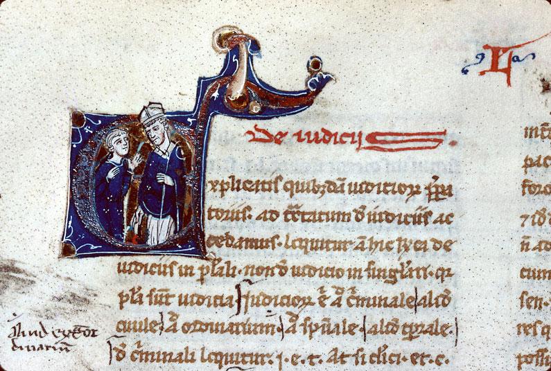 Summa super rubricis Decretalium - Juge ecclésiastique (à préciser)_0