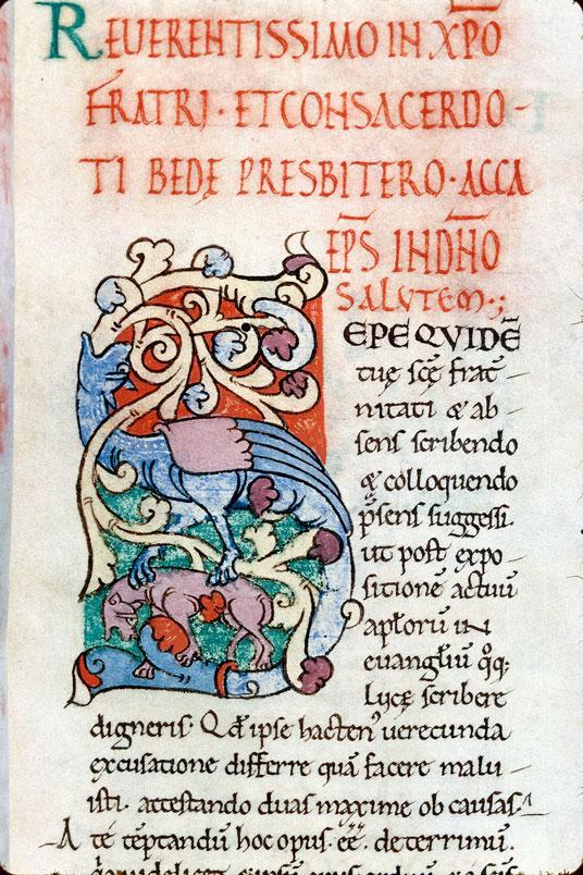 Expositio in Evangelium Lucae - Hybride zoomorphe et fauve_0