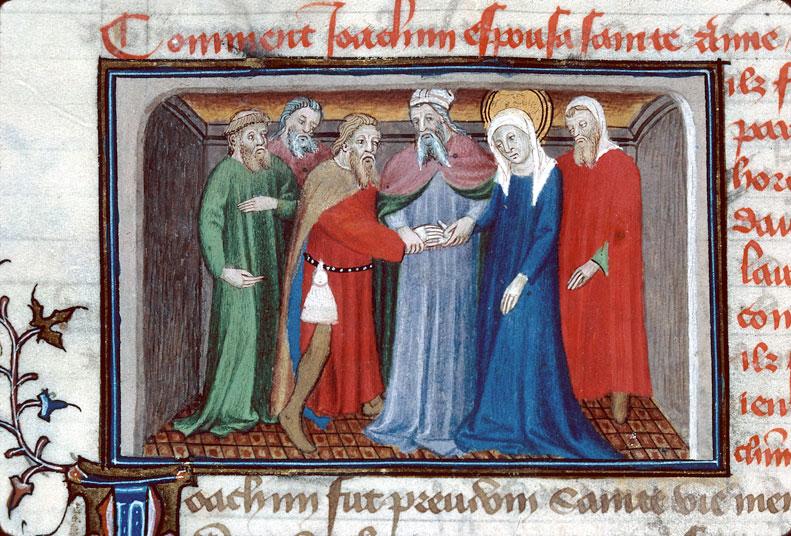 Roman de Dieu et de sa mere - Mariage de Joachim et Anne_0