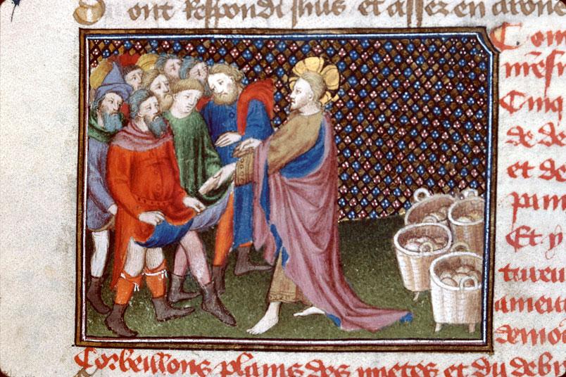 Roman de Dieu et de sa mere - Multiplication des pains (La)_0