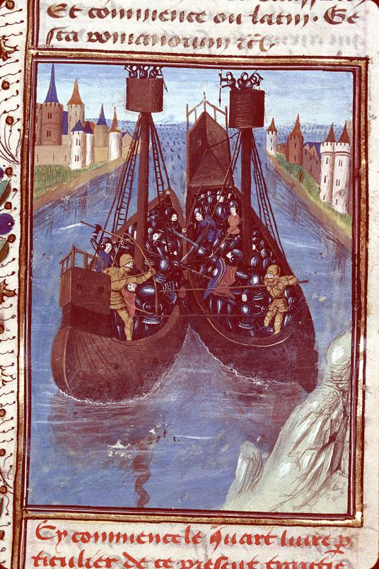 Romuleon - Bataille navale entre Romains et Carthaginois_0