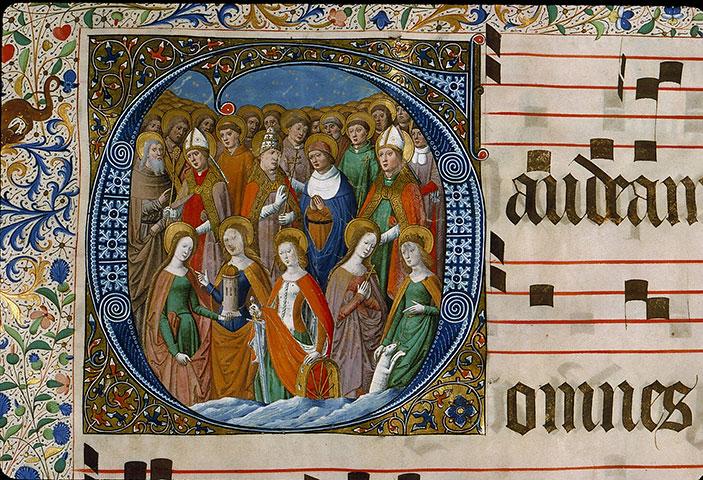Graduel à l'usage de la cathédrale du Mans - Saints_0