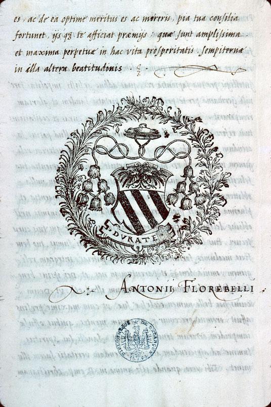 Oratio ad Carolum V imperatorum - Armes d'Antoine Perrenot de Granvelle_0