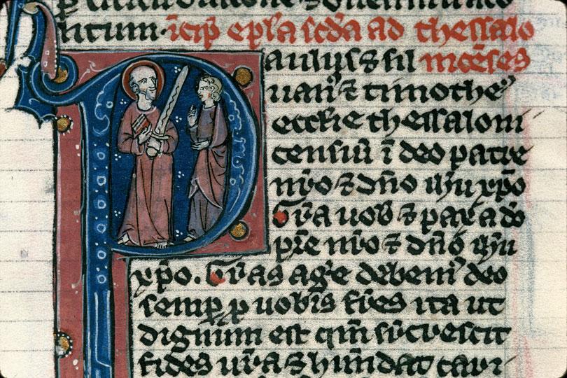 Bible - Saint Paul et Timothée_0