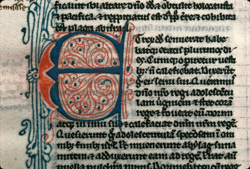 Bible - Initiale filigranée_0