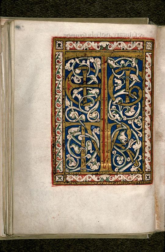 Sacramentaire à l'usage d'Arles - Page décorée_0