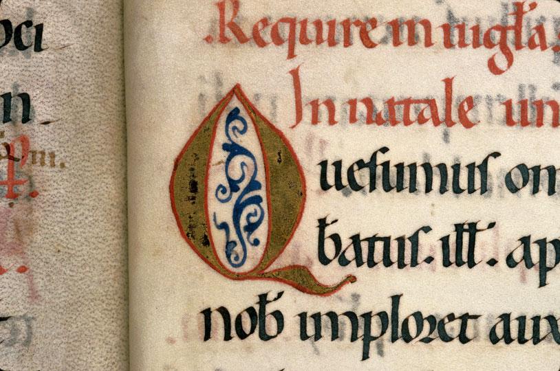 Sacramentaire à l'usage d'Arles - Initiale ornée_0