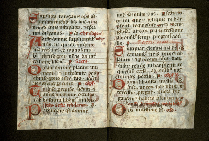 Sacramentaire (fragment)