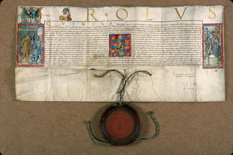 Lettres de noblesse décernées par Charles Quint