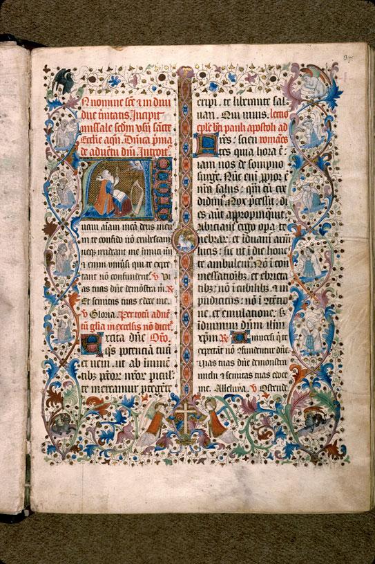 Missel à l'usage d'Aix-en-Provence - Page décorée_0