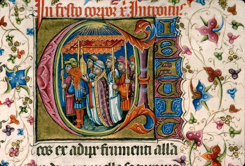 Missel à l'usage d'Aix-en-Provence - Procession du Saint-Sacrement_0