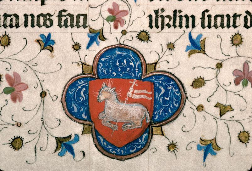 Missel à l'usage d'Aix-en-Provence - Armes du chapitre cathédral d'Aix_0